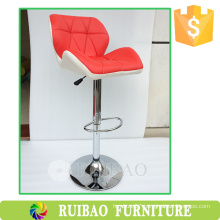 2016 High Quality Competitive Price American Style Leather Swive High Hotel Bar Chair