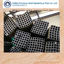 40*40 Standard Square Carbon Seamless Steel Tube