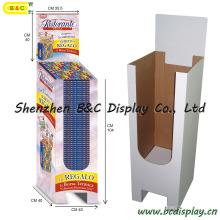 Paper Cardboard Dumpbin Display, Dump Bin Display Rack, Paper Display Showcase, Dump Bin (B&C-A059)