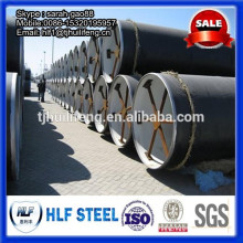 cement mortar lining steel pipe / cement making production line