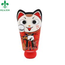 Tubo de creme de mão tubo laminado cosméticos embalagem com forma bonito
