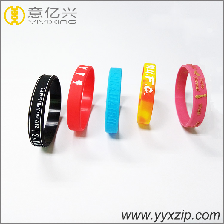 Various Silicone Wristbands