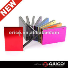 ORICO 2595SUS3 9.5mm 2.5 '' Caixa de disco rígido de alumínio externo