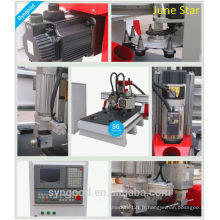 Finition unique Fraisage Engraving Cutting No need operator SG1325 ATC -cnc knife with atc