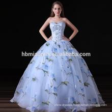 2017 Luxury Women Dress High-end Strapless Evening Dress