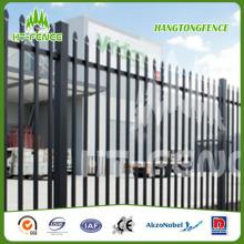 Garrison Steel Picket Fence