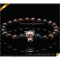Новые товары Оптовый красный тигр глаз бисер натуральный камень браслет (CB0118)