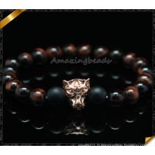 Nouveaux produits en gros Bracelet en pierre naturelle de perles de tigre rouge (CB0118)