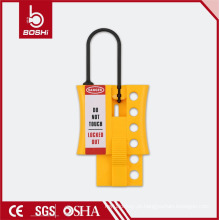 Sparkproof hasp !! EUA DuPont Isolamento de nylon Segurança Lockouts & Tag Hasp,