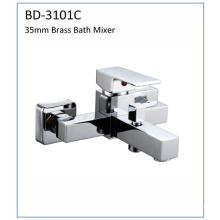 Bd3101c Brass Single Lever Square Bath Faucet 35mm