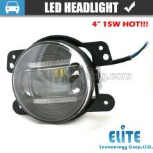 """4 """"4.5"""" LED Motorrad Scheinwerfer runde LED Scheinwerfer für Jeep LKW"""