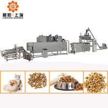 Máquina de comida para perros para gatos Línea de producción de comida para gatos