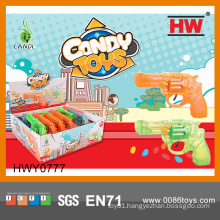 Funny Plastic Soft Candy guns Toy (12pcs /Display box)