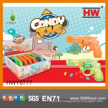 Funny plástico Soft Candy brinquedo de armas (12pcs / caixa de exibição)