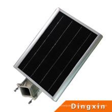 8W LED intégré tout dans un capteur solaire rue de capteur