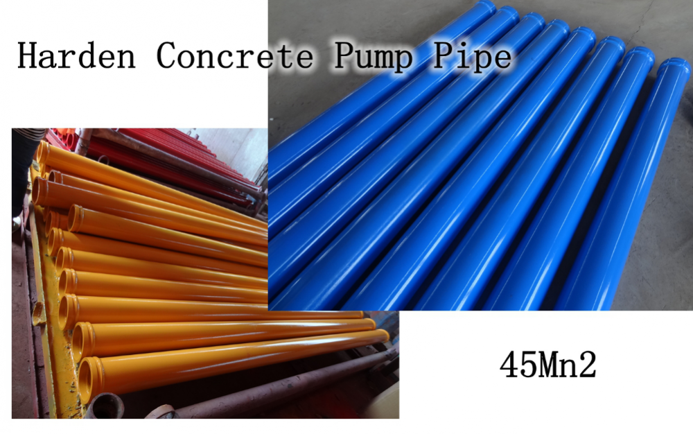 Concrete Pump Harden Pipe