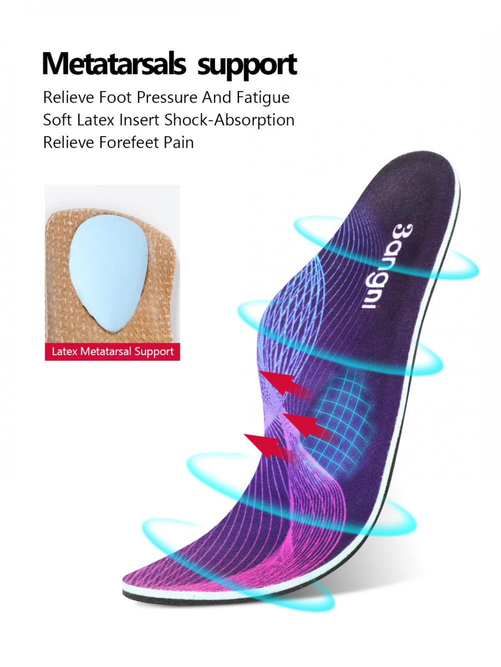 Feet Heat Moldable Orthotic Insoles 4