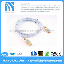 HDMI GOLD CABLE V 1.4a 1080p 3D 4K2K POUR SKY LG SAMSUNG