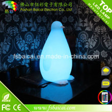 Cube Decorative Battery Operated RGB LED Table Lamps for Bar, Hotel, Room