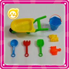 Plástico praia carro conjunto balde praia brinquedo crianças