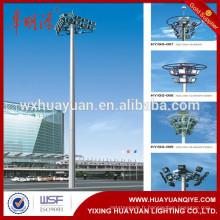 Poteaux d'éclairage à mâts à haute résistance en acier auto-soulevés
