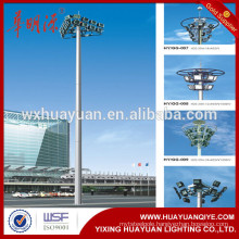 auto-lifted types steel high mast lighting poles
