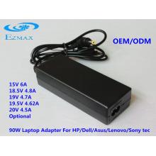 YH-8002 90W Adaptador de CA Adaptador de ordenador portátil