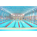 Long Span Galvanized Steel Frame Cover Roof for Swimming Pool Large Span