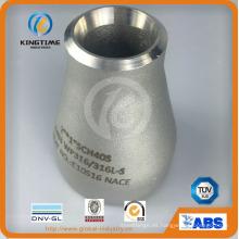 OEM Wp316 Conc. Reductor para el montaje de tuberías ASME B16.9 (KT0317)