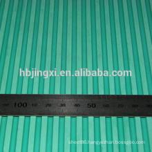 Green SBR Ribbed Rubber Sheet