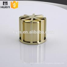 couleur or zamac métal parfum bouchon zinc