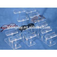 Clear Acrylic Mutiple Eyeglass Holder