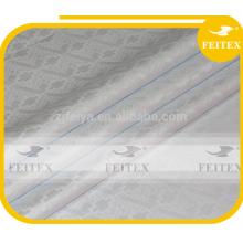 Best quality fabric african bazin riche damask guinea brocade white boubou fabric