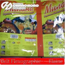 Flex Stack Type Paper / Plastic Film Printing Machinery