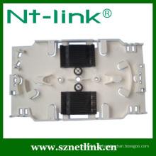 24 núcleos painel de fibra óptica placa de emenda de fibra