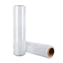 PE White short transparent plastic packaging stretch wrap film