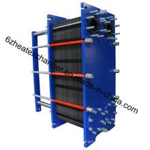 Intercambiador de calor de placas de China, fabricante de enfriadores de agua a aceite (M20)