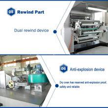 Machine de revêtement de film de paillettes PET TB1100