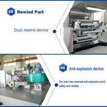 Máquina de revestimento de filme de lantejoulas PET TB1100