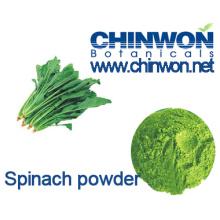 Nahrungsergänzungsmittel Spinatpulver