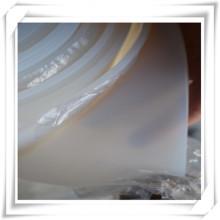 Silicone transparent / feuille de caoutchouc transparent de silicium