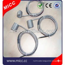 Injection molding High Density Hot Runner Electric Mini Coil Heaters