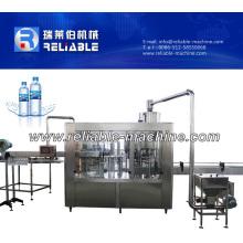 Equipo de línea de producción de agua potable embotellada automática pequeña
