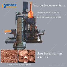 Machine à briquettes en métal pour copeaux d'aluminium