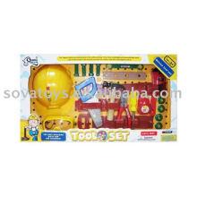plastic toy tool box set