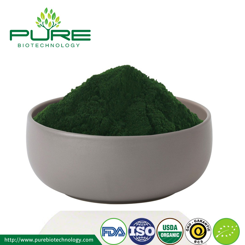 Green Organic Chlorella Powder