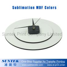 Wholesale Sublimation Round Transfer MDF Clock