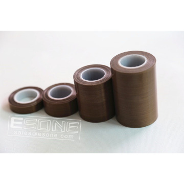 Non-stick PTFE adhesive tape with silicone for industy