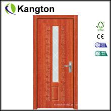 Ucrânia / Romênia Design Porta de madeira em PVC (porta em PVC)