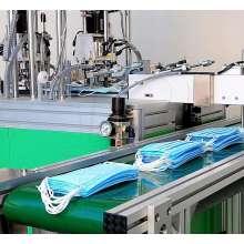 manual mask taping machine